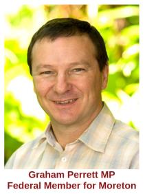 Graham Perrett MP Federal Member for Moreton