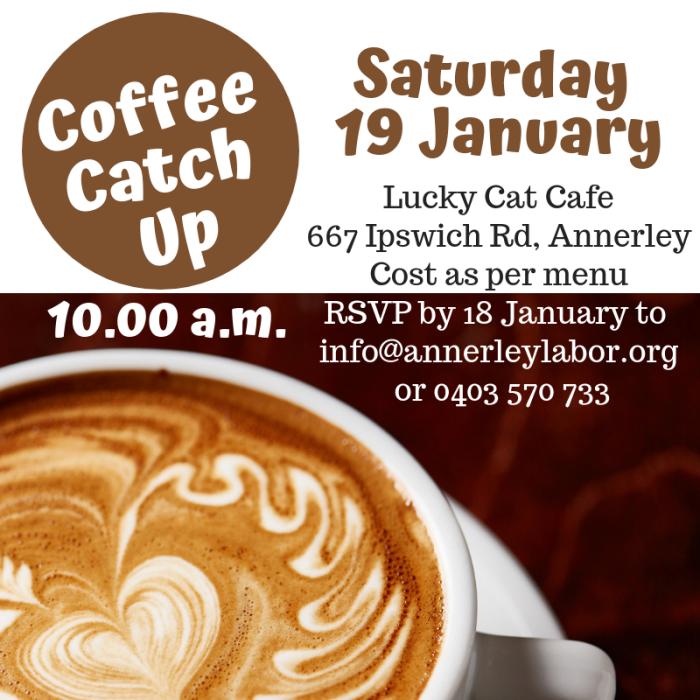 Coffee Catch Up Jan 2019